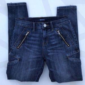 BDG Women's Zipper Cargo Skinny Jeans - Size 28